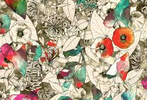 flowers/pattern / by Justine
