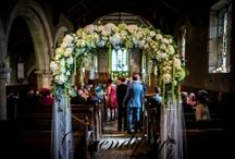 Church Flowers / Floral designs and decoration for churches