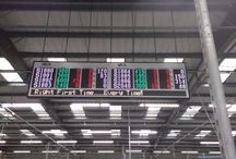 LED Production Counters For Factory Environments / Dynamo LED Displays installed a fantastic system utilising the latest data analytics technology to show productivity on a huge LED display as well as 8 other mini LED signs at the Sanoh production plant near Swindon. For more details visit http://dynamo-led-displays.co.uk/applications/led-factory-signs/