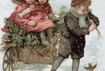 Vintage Christmas Images for Cards