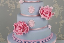 Pastel Coloured Cakes