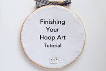 embroidery and hoop art