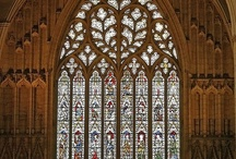 Vitrail / Stained glass and tracery