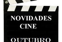 Cine OUTUBRO 2016 / Novidades CINE na Biblioteca Anxel Casal OUTUBRO 2016