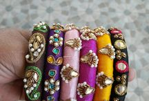 Embroidered Bangles
