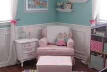 baby room / by Amanda Hersh