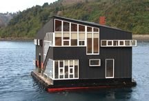 HOME... Houseboat's / wonderful homes that float on the water. / by Debbie Olsen