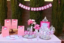 Sparkly butterfly theme birthday