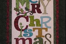 Holiday quilts, wall hangings and table runners / by Connie K