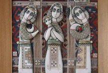 Ceramica by Tsolak Shahinyan / Tsolak was born in 1964 in Gyumri, Armenia.