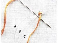 bordado diseños y puntos
