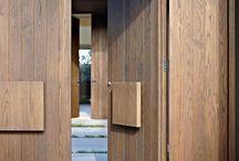 Entrance doors