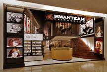 Irwan Team Salon at Bintaro Exchange / Rustic Salon Style!