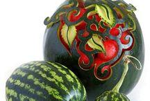 Watermelon art / by Clarinda Nunez