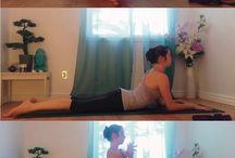Upper back yin yoga