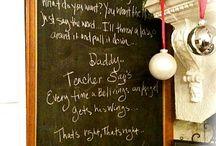 Chalkboard / by Suite 29