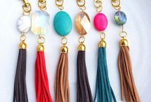 Tassel key charms