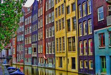 Amsterdam / Amsterdam is one of the most popular tourist destinations in Europe, receiving more than 4.63 million international visitors annually, this is excluding the 16 million day trippers visiting the city every year! Let's pin away! / by InsureMyTrip