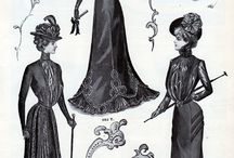 FASHION STYLES ACROSS THE CENTURIES / by Rhonda Aldrich