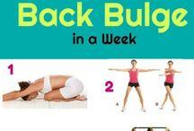 Armpit fat exercises