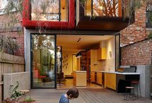 Fitzroy Houses and Apartments / Fitzroy, Australia is home increasing amount of architecturally designed houses and apartments with truly remarkable unique and wonderful designs. | Architecture | Design | Fitzroy | Melbourne | Scharp |