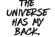 The Universe (Trust & Quotes)