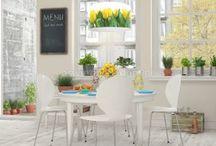Lampy w kwiaty / Rozkwitające lampy czyli delikatne różane abażury, lub lampy do złudzenia przypominające kwiaty