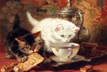 Tea és művészet / A tea szerepe a művészetben. Festmények, versek és idézetek.