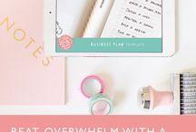 Business - Plan & Organising