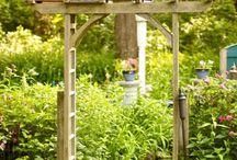 arche bois jardin