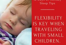 12 Days of Holiday Sleep Tips / My top tips when travelling with kids