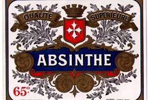 Antique Absinthe Labels / Here you will find a variety of original, antique absinthe bottle labels from many countries throughout Europe. All labels are in new condition, meaning they have never been used (applied to a bottle), and most date before the 1915 ban of absinthe in France. While many labels are originally from France and Switzerland, we do have some rare examples for sale originally intended for export to the United States.