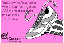 Runners / Sneakers, runners, joggers, shoes  Nike, Brooks, Adidas, New Balance.  / by Melissa Shoesmith