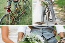 Bicycle Wedding / Bicycles at weddings, tandems, and wedding bicycle style
