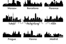 Skylines Wall Art