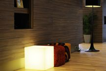 Illuminated furniture / Focus on Light-up furniture: Enlighten your indoor or outdoor spaces differently, with furniture !