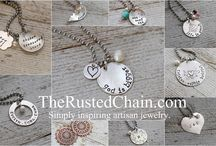 Handstamped Jewellery