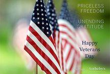Veterans Day / Honoring U.S. Veterans