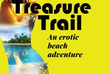 Treasure Trail / images inspired by Treasure Trail, a free choose your own adventure novella available at hotpinkbooks.com