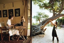 Ethnic style - inspirational / For a specific interior design project, Out of Africa inspired