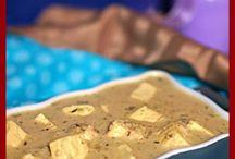 Paneer & Halloumi / Recipes using paneer or halloumi - cooking cheeses