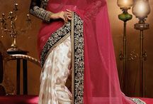 Celebrity Inspired Sarees / Shop online for latest celebrity inspired sarees collection at affordable rates from SareesBazaar.com
