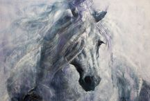 Mary Brun - Equine art