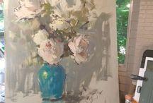Acryl-olieverf schilderen
