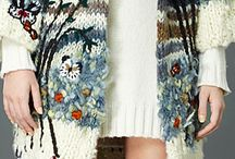 Fabulous Knitwear / Knit garments, diferent technics. Intarsia, jacquards, stripes ...
