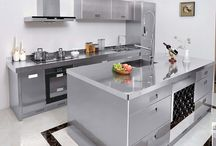 Stainless steel  kitchen cabinets / Stainless steel  kitchen,Stainless steel cabinets