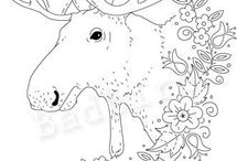 Coloring Pages / by Lynn Basham