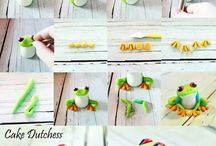 Cake decorating ideas / Ideas and tutorials for cakes