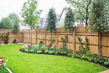 zahrada k plotu