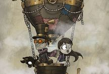 Steampunk / All things steampunk